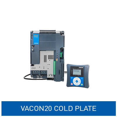 Vacon20 cold plate frekvensomformer
