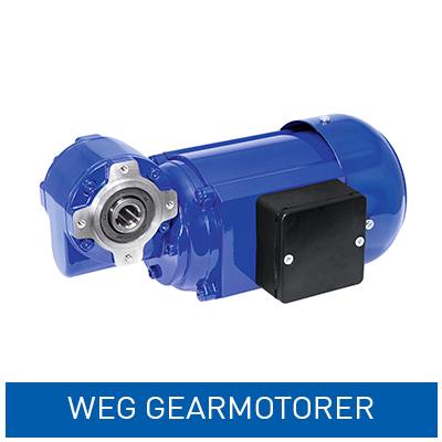 Gearmotorer fra WEG