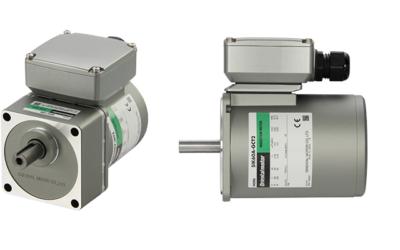 AC motor med justérbar klemkasse og fleksible monteringsmuligheder