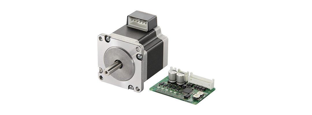 Høj performance stepmotor med kompakt mikrostepdriver
