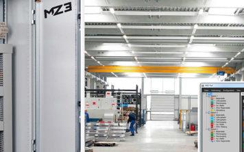 MZ3 central til brandventilation komfortventilation